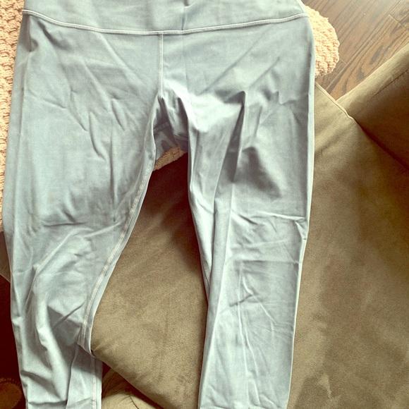 Lululemon. Yoga pants. Brand new. Snow. Size 12